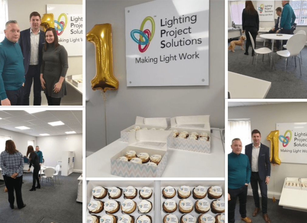 Lighting Project Solutions is 1 Year old!