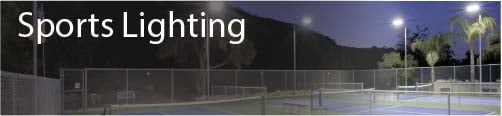 Sports Outdoor Lighting UK Banner