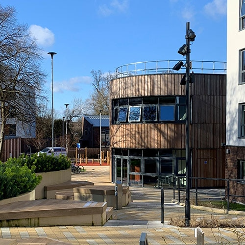 LPS chosen to provide innovative lighting solution at Loughborough University Elite Athlete Centre, hotel and student village.
