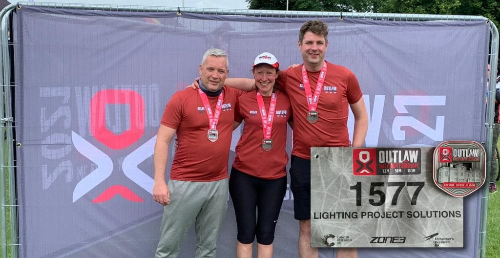 The Lighting Project Solutions Team took part in Outlaw
