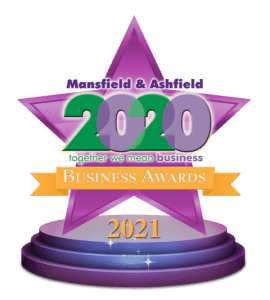 The 2021 Mansfield Business Awards Logo